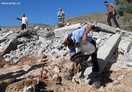 Palestine: Israeil soldiers demolish a mosque, residential structures near Nablus