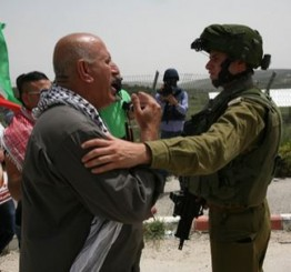 Palestine: Israeli soldiers attack nonviolent protest near Nablus