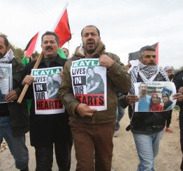 Palestine: 10 injured, 2 kidnapped, as soldiers attack Bil'in's weekly protest