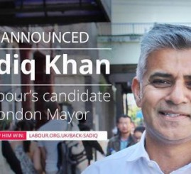 Khan elected as Labour candidate to stand for London mayor