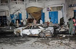 Somalia: Deadly car bomb at Mogadishu café kills seven