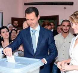Syrian President al-Assad re-elected for third term