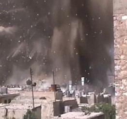 Syria: Dozens killed in attack on regime stronghold in Aleppo
