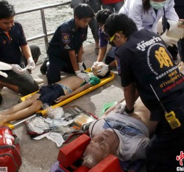 Thailand: Tour boat sinks off eastern Thailand, killing 6