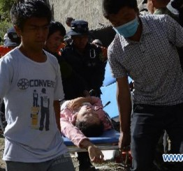 China: 44 killed after Tibet tour bus falls into valley
