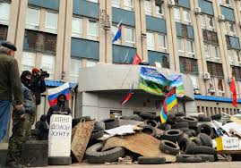 Ukraine blames unrest in the east on 'Russian aggression'