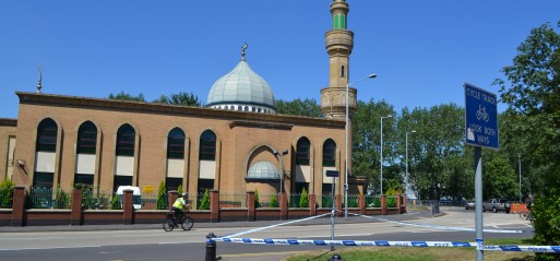 Bomb attacks on mosques in West Midlands
