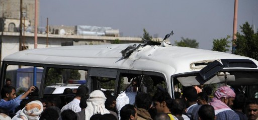 Yemen: Bomb hits military bus causing several casualties in Sana'a