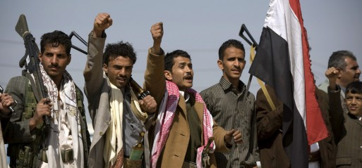 Yemen army, Houthis clash near Presidential palace